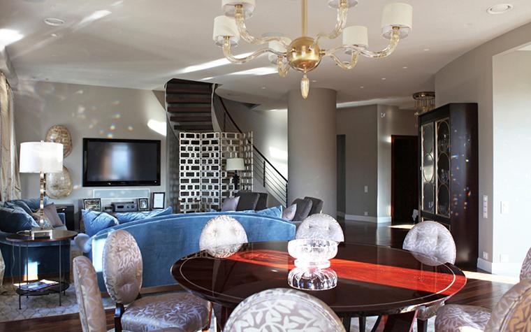 интерьер гостиной - фото № 26002