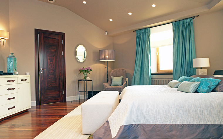Квартира. спальня из проекта , фото №25998