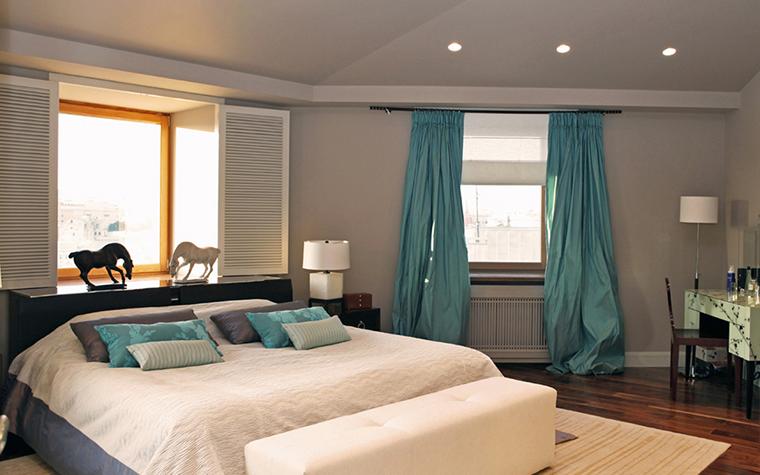 Квартира. спальня из проекта , фото №26000