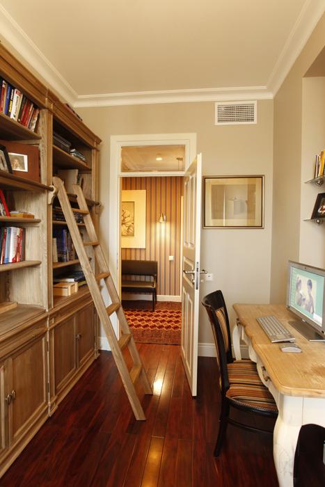 Фото № 26067 кабинет библиотека  Квартира