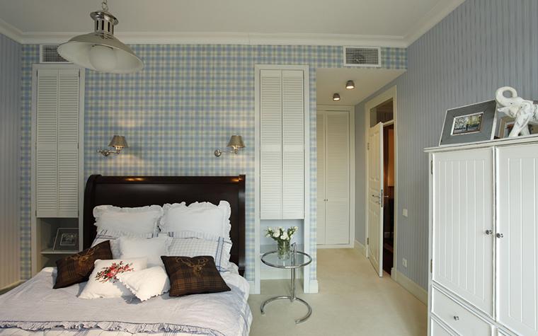 Квартира. спальня из проекта , фото №26075