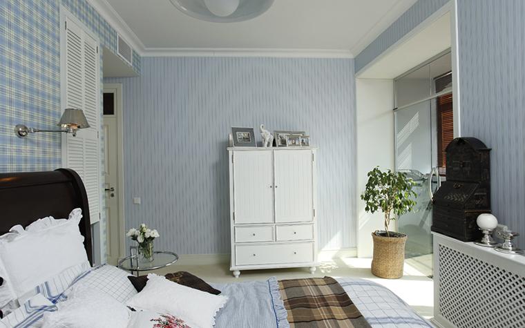 Квартира. спальня из проекта , фото №26077