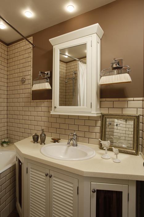 Квартира. ванная из проекта , фото №26072