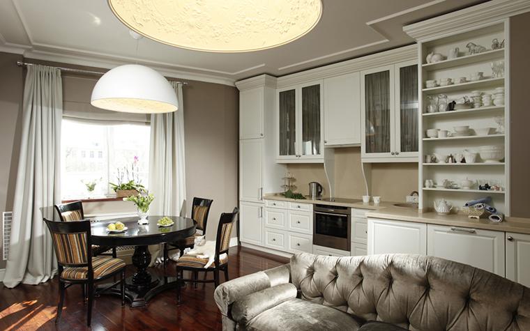 Квартира. кухня из проекта , фото №26058