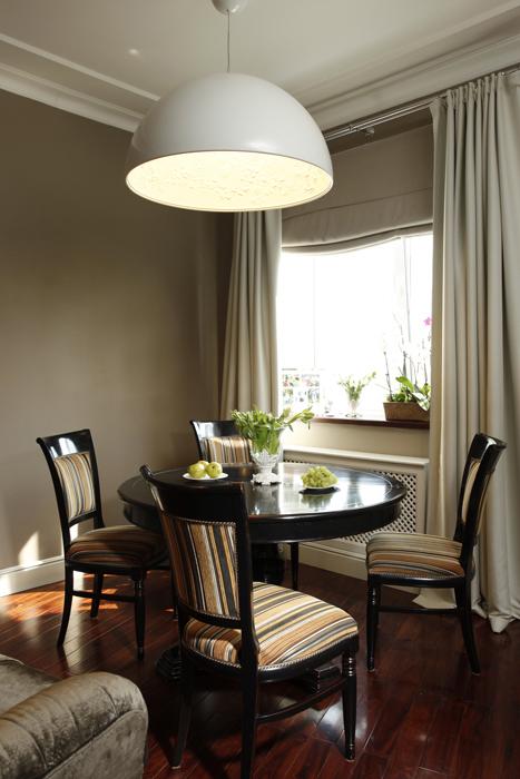 Квартира. столовая из проекта , фото №26071