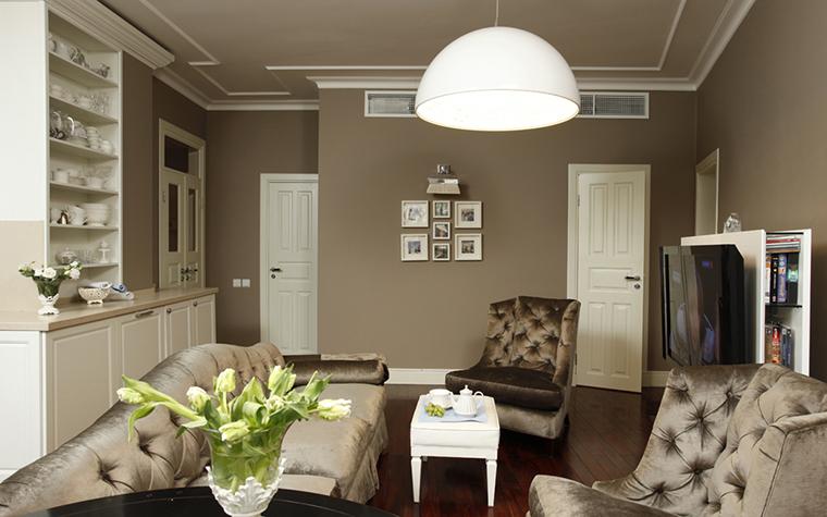 Квартира. гостиная из проекта , фото №26068