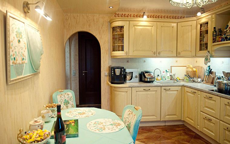 Квартира. кухня из проекта , фото №26112