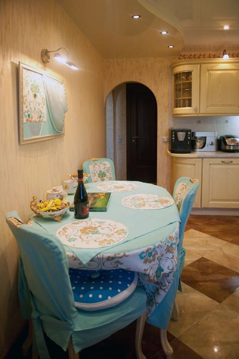 Квартира. кухня из проекта , фото №26113