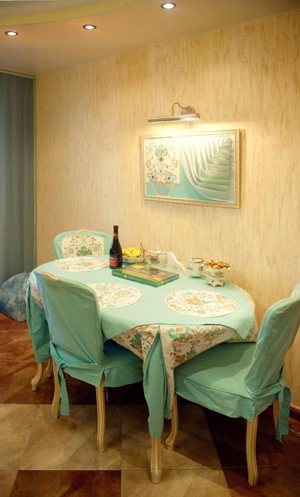 Квартира. кухня из проекта , фото №26116