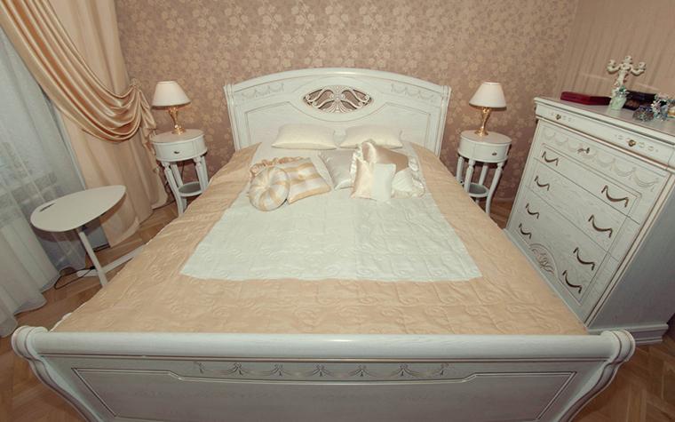Квартира. спальня из проекта , фото №26106