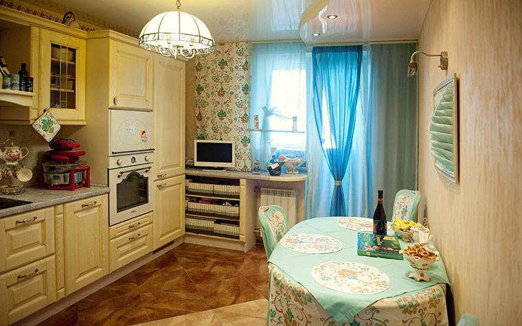 Квартира. кухня из проекта , фото №26111