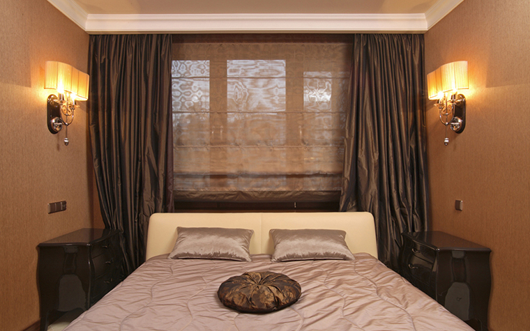 Квартира. спальня из проекта , фото №26211