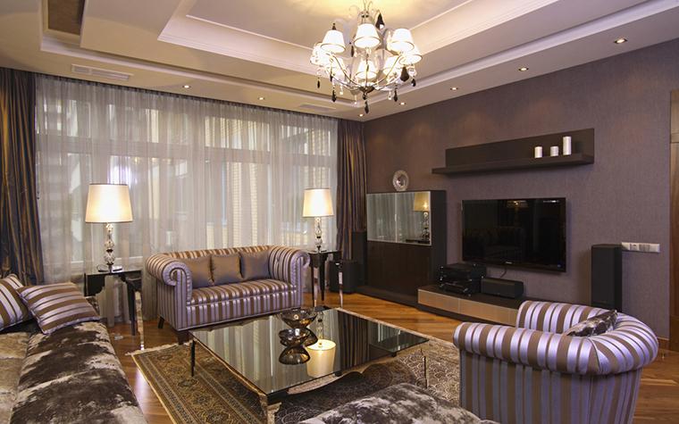 Фото № 26197 гостиная  Квартира