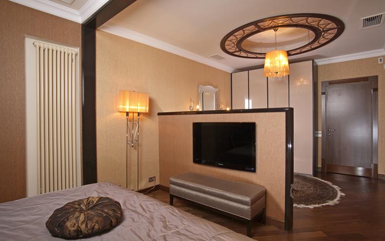 Квартира. спальня из проекта , фото №26213