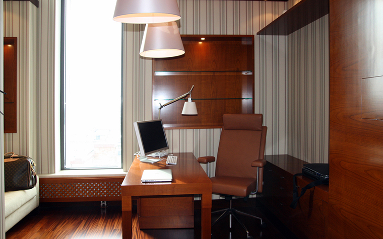 Фото № 26314 кабинет библиотека  Квартира