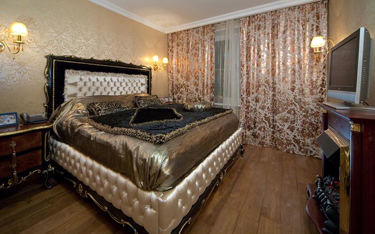 Квартира. спальня из проекта , фото №26369