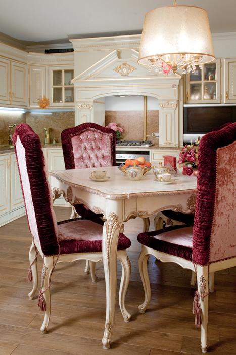 Квартира. столовая из проекта , фото №26371
