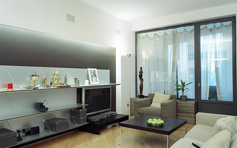 Фото № 26560 гостиная  Квартира