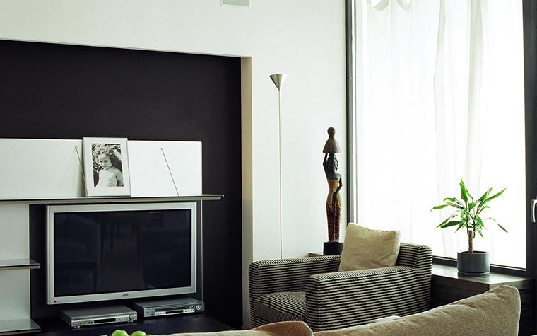 Фото № 26563 гостиная  Квартира