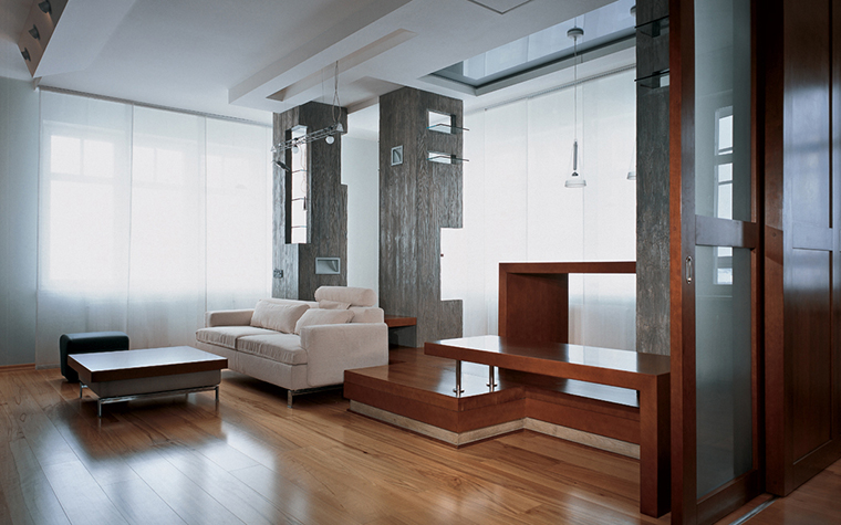 Квартира. гостиная из проекта , фото №26602