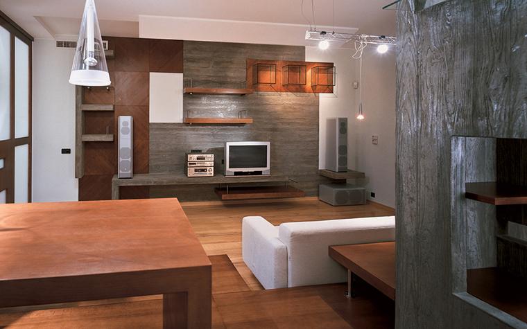 Квартира. гостиная из проекта , фото №26604