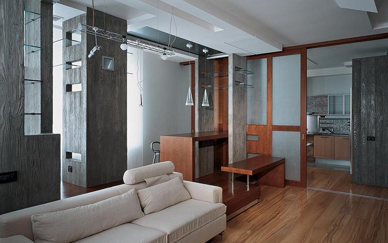 Квартира. гостиная из проекта , фото №26605