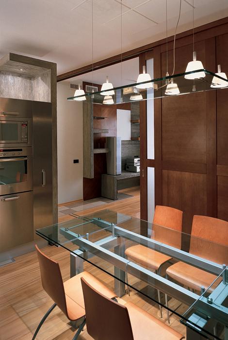 Квартира. кухня из проекта , фото №26606