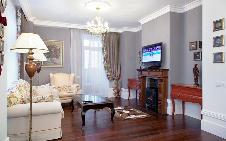 Квартира. гостиная из проекта , фото №26719