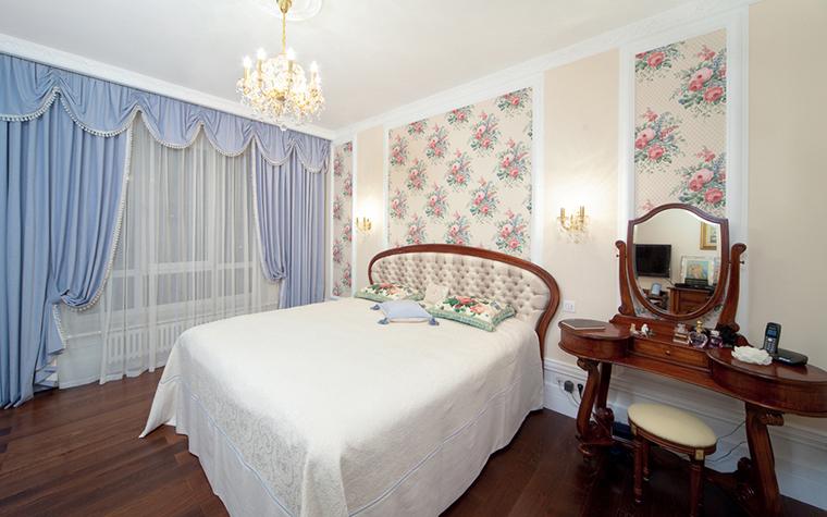 Квартира. спальня из проекта , фото №26709
