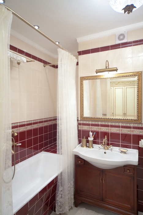 Квартира. ванная из проекта , фото №26710