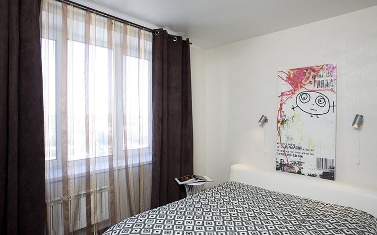 Квартира. спальня из проекта , фото №26920