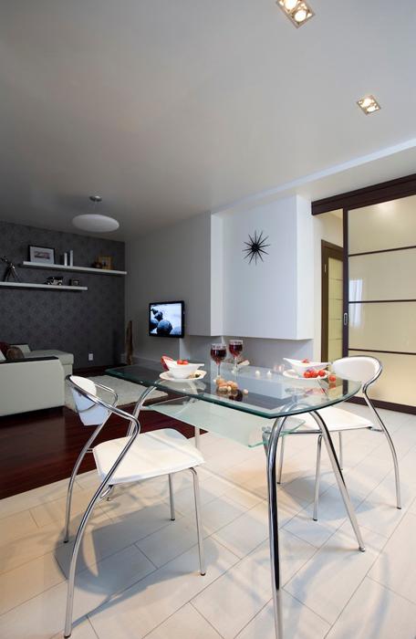 Квартира. столовая из проекта , фото №26929