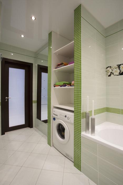 Квартира. ванная из проекта , фото №26931