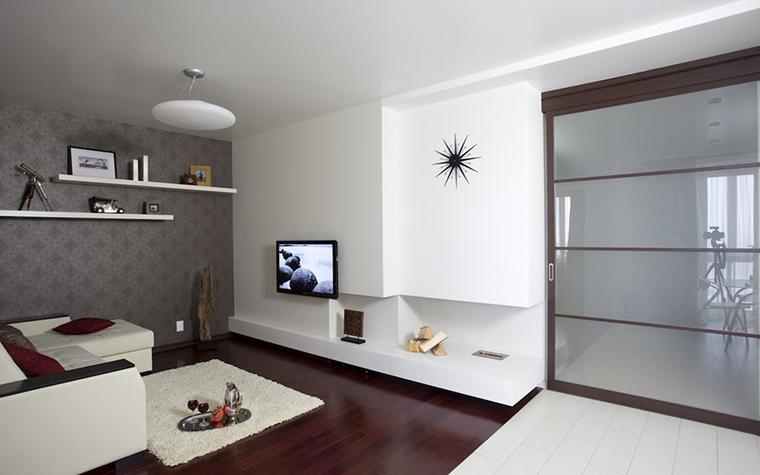 Квартира. гостиная из проекта , фото №26923