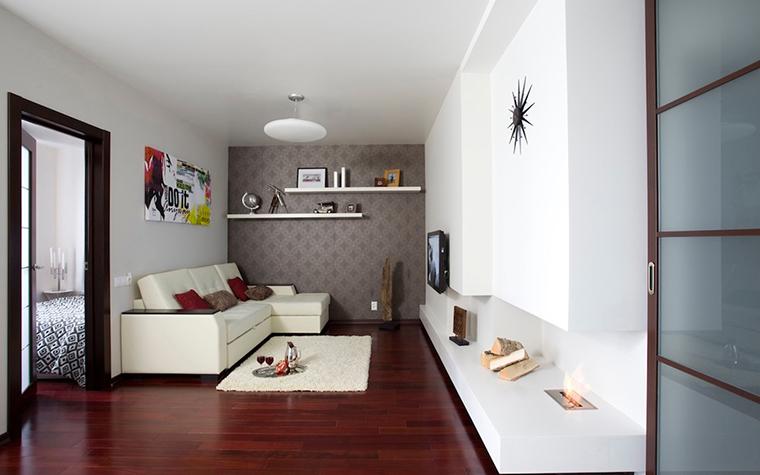 Квартира. гостиная из проекта , фото №26924
