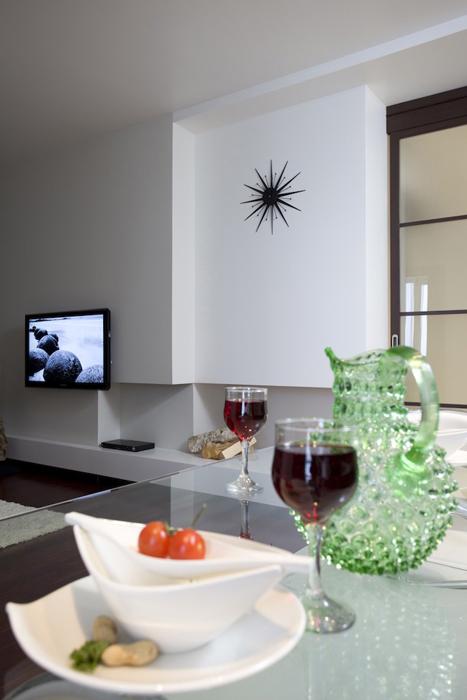 Квартира. столовая из проекта , фото №26926