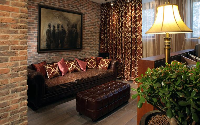 Квартира. гостиная из проекта , фото №26936