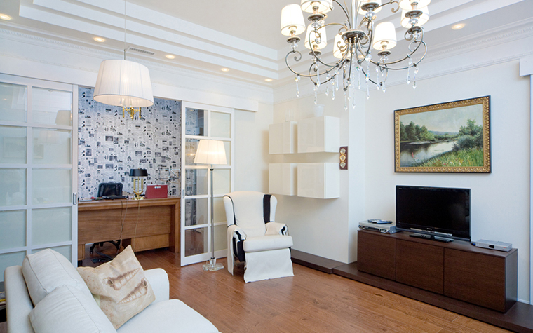 Квартира. гостиная из проекта , фото №26953