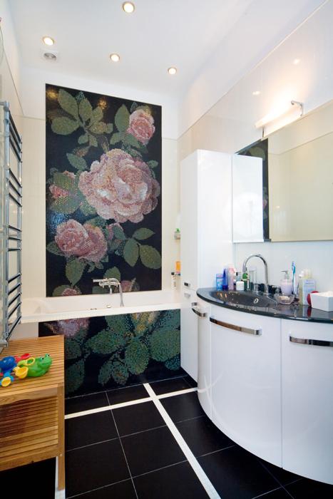 Квартира. ванная из проекта , фото №26959