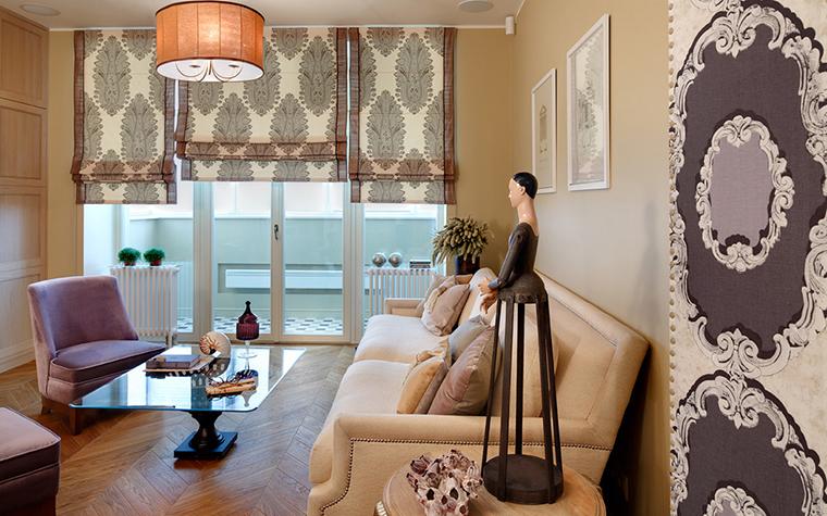 интерьер гостиной - фото № 27076