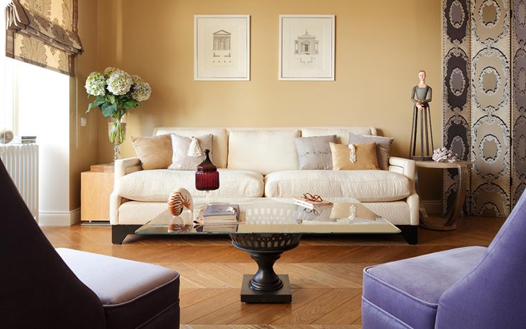 интерьер гостиной - фото № 27079