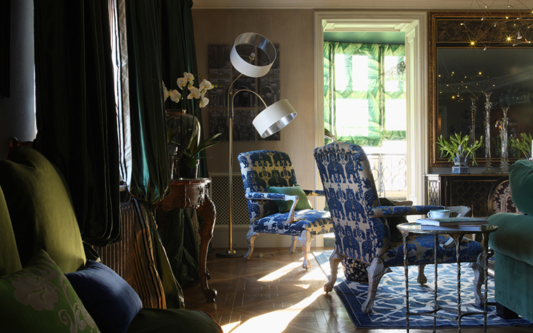Квартира. гостиная из проекта , фото №27159