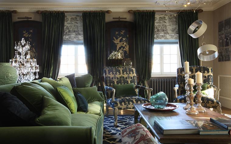 Квартира. гостиная из проекта , фото №27090