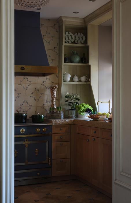 Квартира. кухня из проекта , фото №27126