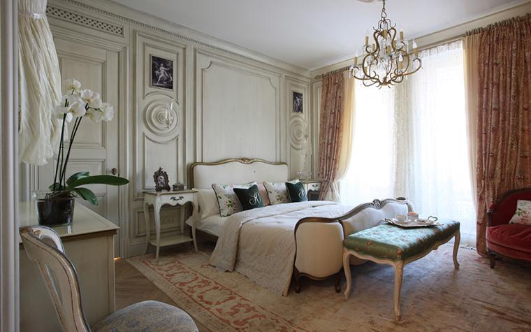 Квартира. спальня из проекта , фото №27114