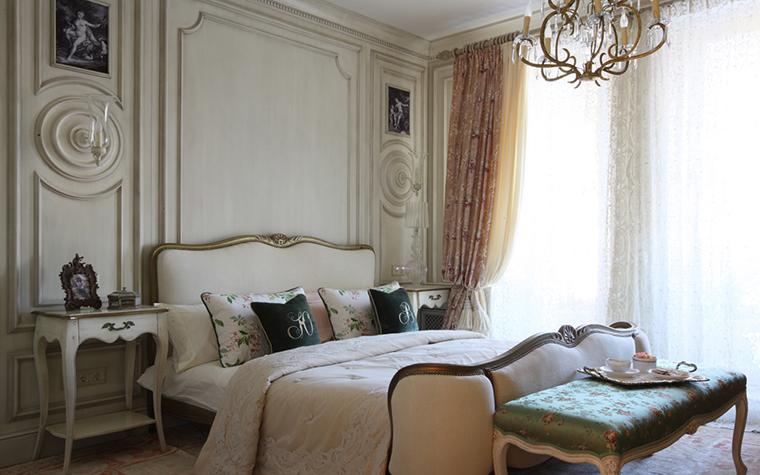 Квартира. спальня из проекта , фото №27113