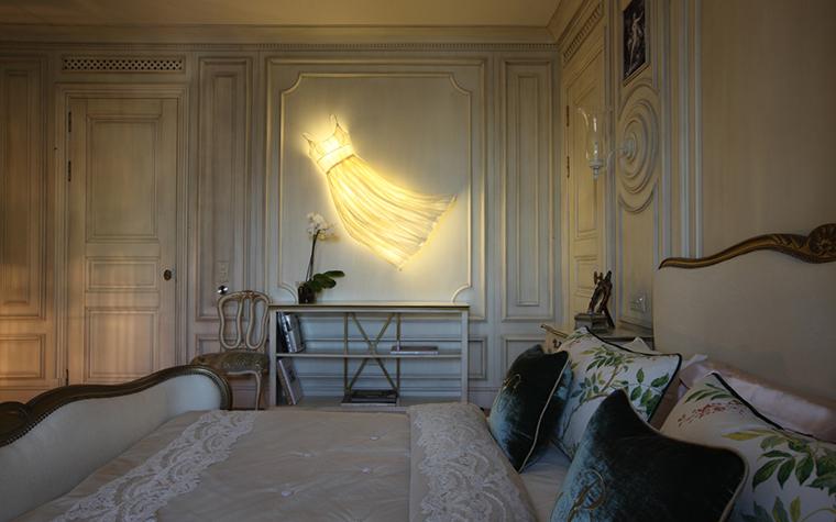 Квартира. спальня из проекта , фото №27111