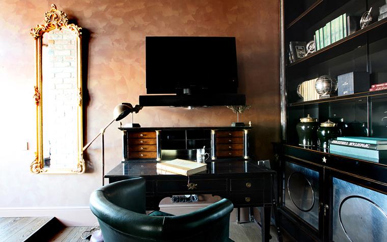Квартира. кабинет из проекта , фото №27132