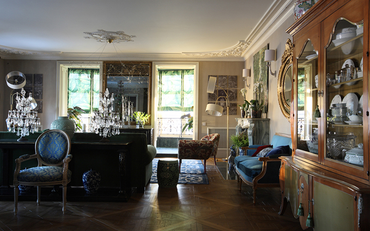 Квартира. гостиная из проекта , фото №27161