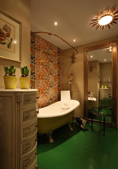 Квартира. ванная из проекта , фото №27162